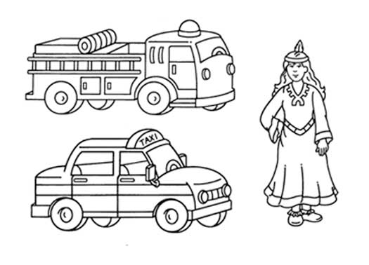 Fire Truck Clip Art Black And White Fire Truck Clip Art Black And